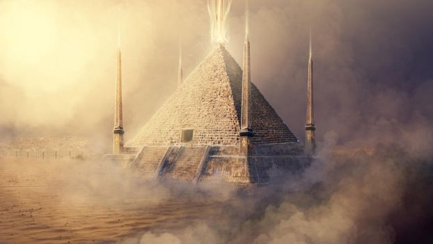 Pyramid of Helion by Silinde-Ar-Feiniel