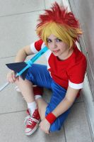 Spike - Ape Escape Cosplay by coolvanillia