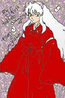 No1 Tablet Experiment-InuYasha by rinidarklight