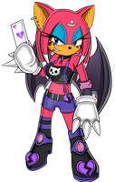 Cerise the Batchidna by DE-Juanchi