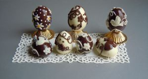 Miniature - Easter chocolate eggs by miniacquoline