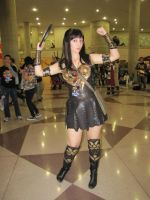 Xena at NYC Comic Con 2010 by BrassIvyDesign