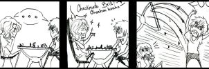 England and France chess comic by Suphiria