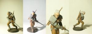 Witcher Geralt figure. 15 cm. by Jambal