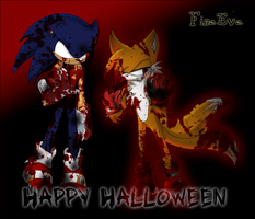 Happy Halloween-FineEve by SilverAlchemist09