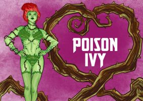 DDF2013 - Day 14: Poison Ivy by BloodySamoan