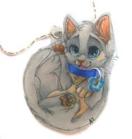 Kattja necklace by SirKittenpaws