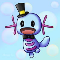 Sir Wooper by RaineLi