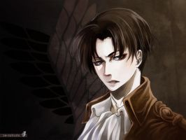 Lance Corporal Levi by Ze-RoFruits