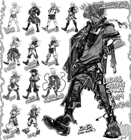 Lucius outfit chart 2004-2013 by Nokomento