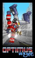 Optimus Rhyme by beaubaphat