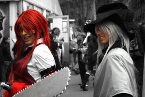 Grell and Undertaker by seemii