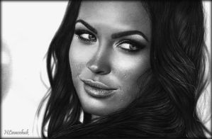 Megan Fox_GQ 2008 (Men Of The Year) by NLevaschuk