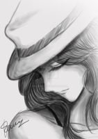 fedora chick by fenlicious