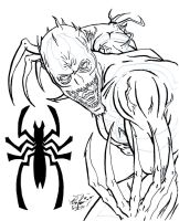 Anti-Venom: Epic inked by OrionSTARB0Y
