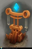 Elemental Shrine by designfxpro