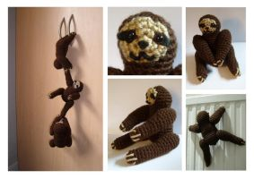 Magnetic sloths! by TheBattenburg