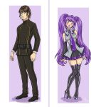 Before n After TG Purple Miku by K1tty-Marshmell0w