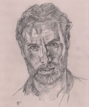 Andrew Lincoln as Rick Grimes by Gossamer1970