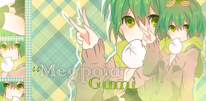 Signature Gumi megpoid by Asunaw