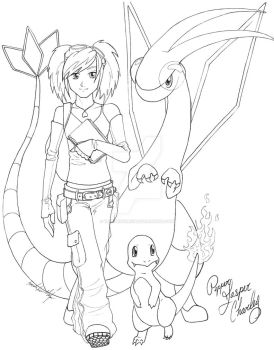 Pepper Pokemon Master by TheRaineDrop