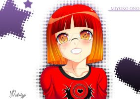 Miyoko smile by Folk-dude-Philip