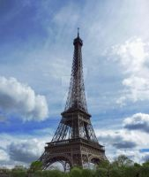 Eiffel  tower by Roger-Jordison