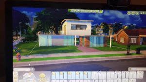 A house on the Sims I'm building  by PorterSaysRAWR