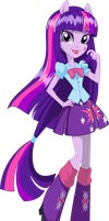 Vector Equestria Girls Box Twilight Sparkle by Will290590