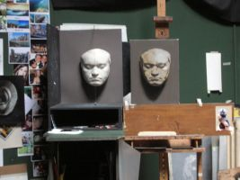 Bethoven's Mask 2011 - Process by RBGuerra