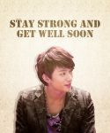 Get well soon Gongchannie by Hdola