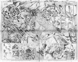 BN superman 2, double-page by eddybarrows