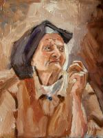 Old woman by prettywell