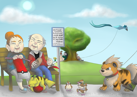 We'll All Live in a Pokemon World by theamazingwrabbit