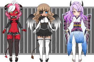 Reduced Succupid Adopts [CLOSED] by MamaGizzy