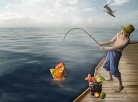 Fishing by SuicideOmen