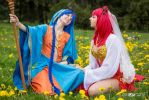 fun - Aladdin and Morgiana (Magi) by KaBuBaKa