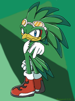 Jet the Hawk by Aamypink