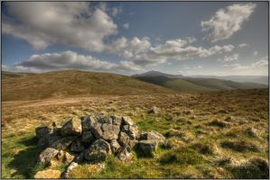 Up on the Fells by Rebacan