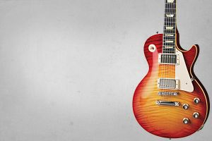 Gibson Les Paul Wallpaper by nicollearl
