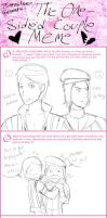 One-Sided Couple Meme by n4c9s