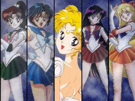 Inner Sailor Scouts by revelias