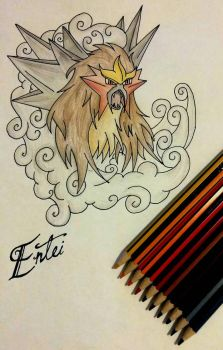 Entei by SaraIC31