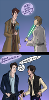 When Doctor Who and Star Wars collides by Fonora