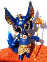 Anubis Doll by MaryBunnie