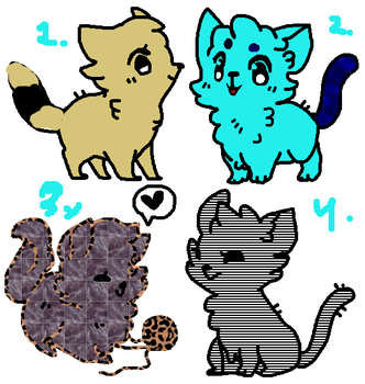 Cat adopts by sunnylil
