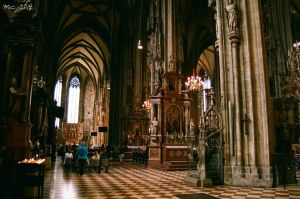 Stephansdom by Tolkienbliss