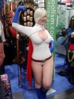 Power Girl at Comic-Con 2012 by Pabloramosart