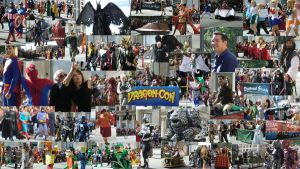 Dragon Con 2012 Parade Collage by KwongBee-Arts