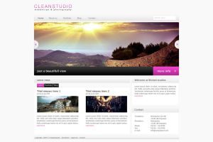 Clean Studios HTML Theme by bestofthemeforest